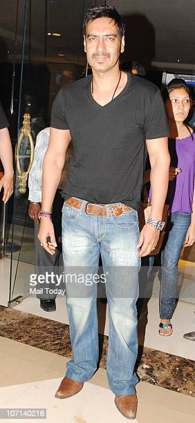 Ajay Devgan at the 100 day celebration party of the film Once Upon A Time In Mumbai on November 24 2010