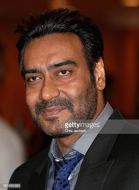 Ajay Devgan at the British Asian Trust Reception on day 4 of an official visit to India on November 9 2013 in Mumbai India This will be the Royal...