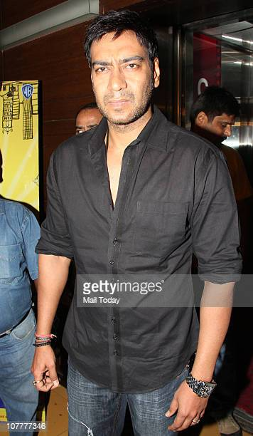 Ajay Devgan at the music launch of film Dil To Baccha Hai Ji in Mumbai