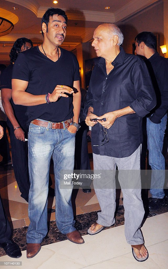 <a gi-track='captionPersonalityLinkClicked' href=/galleries/search?phrase=Ajay+Devgan&family=editorial&specificpeople=627271 ng-click='$event.stopPropagation()'>Ajay Devgan</a> with Mahesh Bhatt at the 100 day celebration party of the film Once Upon A Time In Mumbai on November 24, 2010.