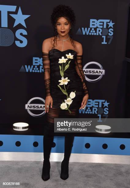 Ajiona Alexus at the 2017 BET Awards at Microsoft Square on June 25 2017 in Los Angeles California