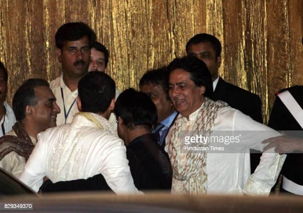 Ajitabh Bachchan during the wedding of Aishwarya and Abhishek Bachchan