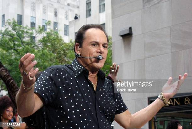 KC aka Harry Wayne Casey during KC The Sunshine Band Perform on the 'Weekend Today Show Summer Concert Series' at The Plaza in New York City New York...