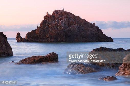 Akabane coast, Japan, Aichi Prefecture