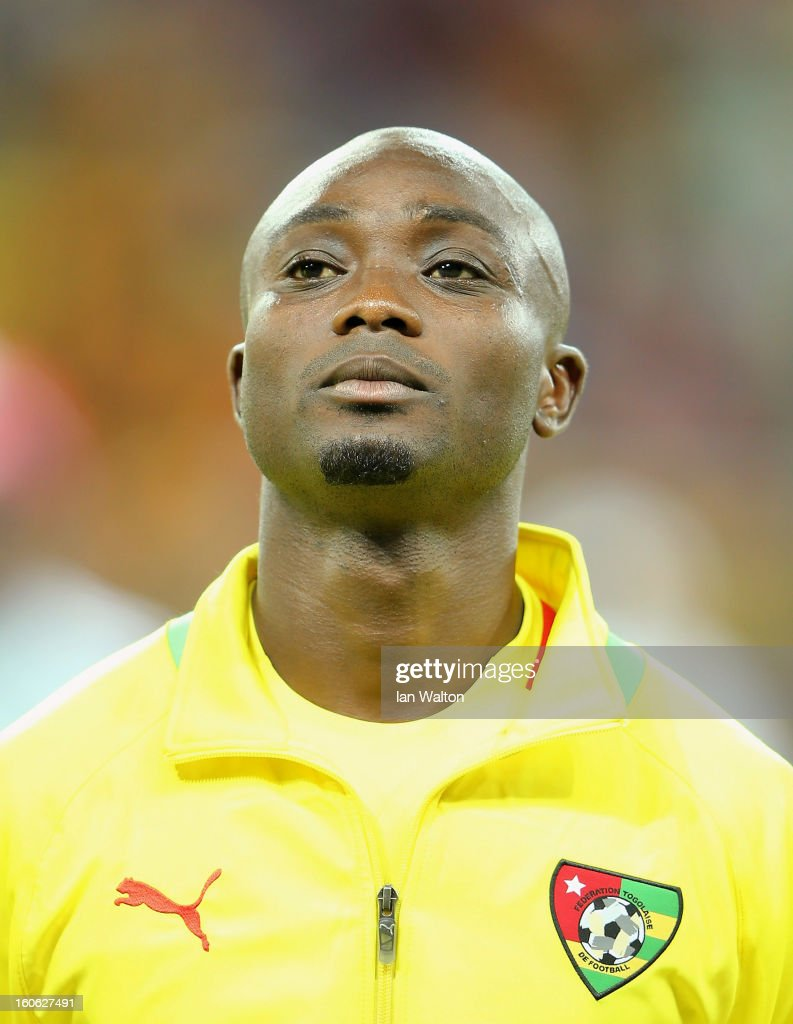 Akakpo Ognadon Serge of Togo during the 2013 Africa Cup of Nations Quarter-Final match between Burkina Faso and Togo at the Mbombela Stadium on February 3, 2013 in Nelspruit, South Africa.