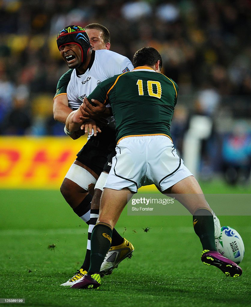 South Africa v Fiji - IRB RWC 2011 Match 15