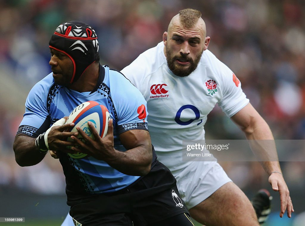 England v Fiji - QBE International