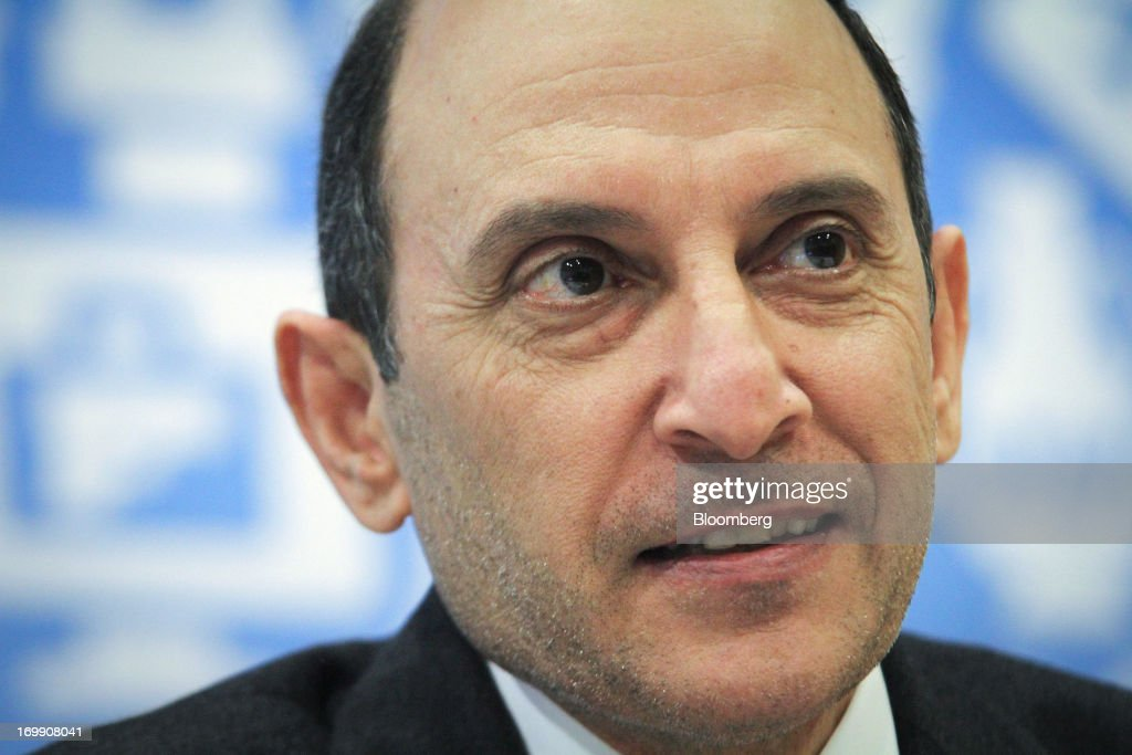 Akbar Al Baker, chief executive officer of Qatar Airways Ltd., speaks during the International Air Transport Association's (IATA) annual general meeting in Cape Town, South Africa, on Tuesday, June 4, 2013. Airline earnings will be 20 percent higher this year than forecast just three months ago as capacity cuts help pack planes to record levels, the International Air Transport Association said today. Photographer: Nadine Hutton/Bloomberg via Getty Images