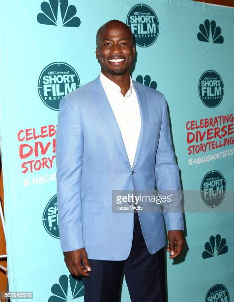 Akbar Gbajabiamila at the12th Annual NBCUniversal Short Film Festival Finale Screening at Directors Guild Of America on October 18 2017 in Los...