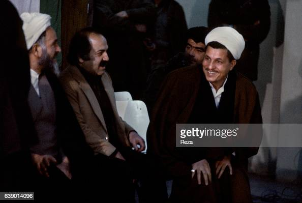 Akbar Hashemi Rafsanjani during the investiture ceremony of Abolhassan Bani Sadr first president of the Islamic Republic of Iran Influential Iranian...