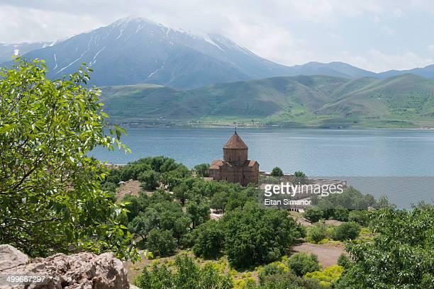 Akdamar church. Lake Van. Turkey.