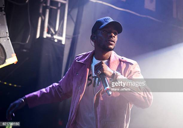 Akelle Charles of WSTRN performs at O2 Academy Islington on November 8 2016 in London England