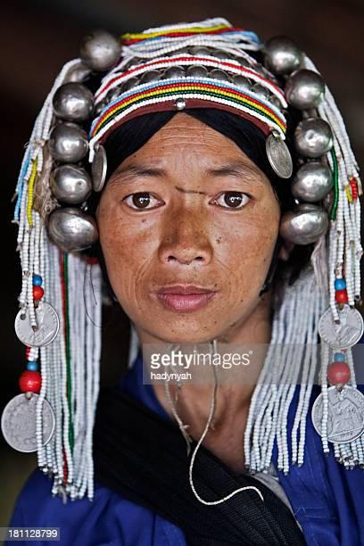Ethnie Akha femme