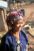 Akha Woman Smiling