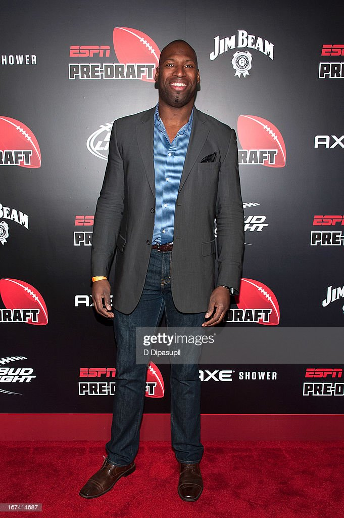 Aki Jones attends the ESPN The Magazine 10th annual Pre-Draft Party at The IAC Building on April 24, 2013 in New York City.