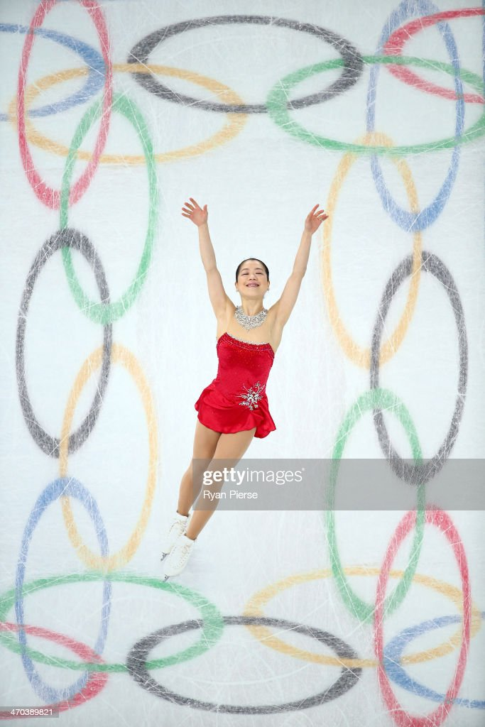 <a gi-track='captionPersonalityLinkClicked' href=/galleries/search?phrase=Akiko+Suzuki&family=editorial&specificpeople=5621783 ng-click='$event.stopPropagation()'>Akiko Suzuki</a> of Japan competes in the Figure Skating Ladies' Short Program on day 12 of the Sochi 2014 Winter Olympics at Iceberg Skating Palace on February 19, 2014 in Sochi, Russia.