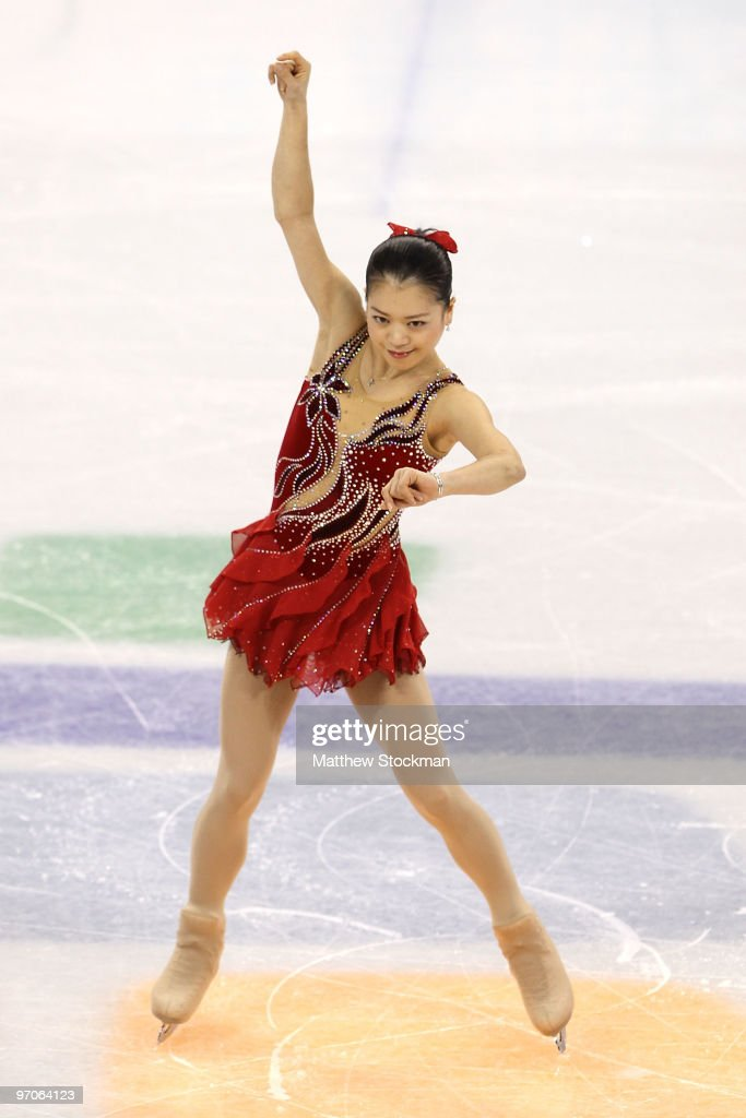 <a gi-track='captionPersonalityLinkClicked' href=/galleries/search?phrase=Akiko+Suzuki&family=editorial&specificpeople=5621783 ng-click='$event.stopPropagation()'>Akiko Suzuki</a> of Japan competes in the Ladies Free Skating on day 14 of the 2010 Vancouver Winter Olympics at Pacific Coliseum on February 25, 2010 in Vancouver, Canada.