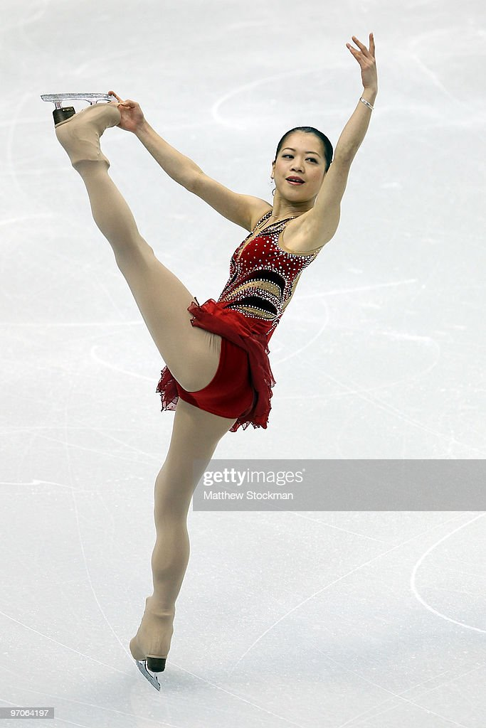 Akiko Suzuki of Japan competes in the Ladies Free Skating on day 14 of the 2010 Vancouver Winter Olympics at Pacific Coliseum on February 25, 2010 in Vancouver, Canada.