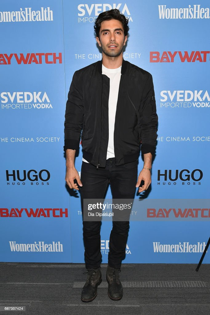 "The Cinema Society Hosts A Screening Of ""Baywatch"" - Arrivals"