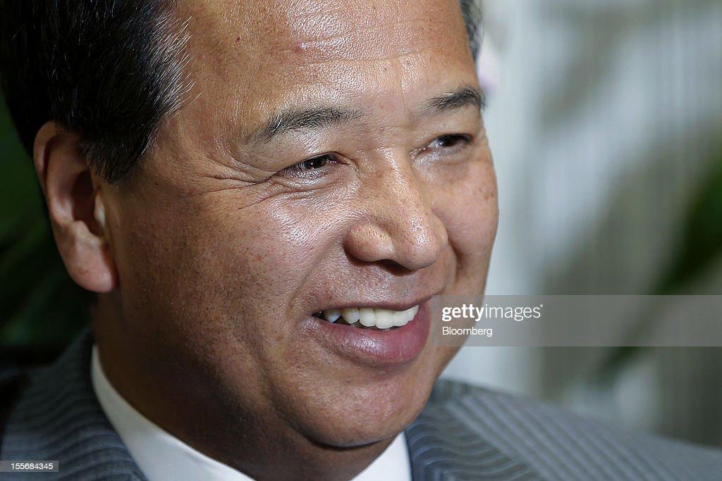 LDP Policy Chief Akira Amari Interview