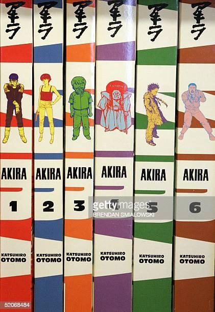 Akira comics one of the pioneering Manga style comics to come to the US is displayed at Big Planet Comics 25 January 2005 in Washington DC The Manga...