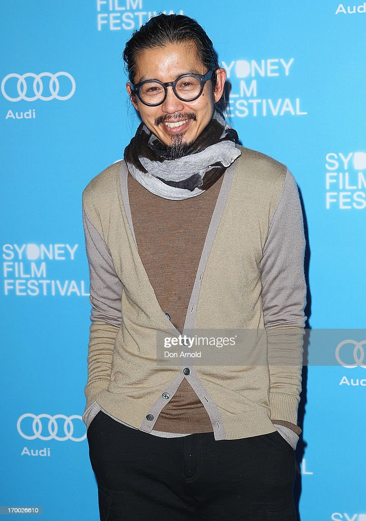 Akira Isogawa arrives at the Australian premiere of 'The Way Way Back' at the State Theatre on June 6 2013 in Sydney Australia