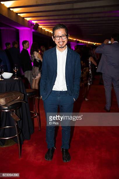 Akira Isogawa arrives at The opening night of the Australian Ballets 'Najinsky' on November 11 2016 in Sydney Australia