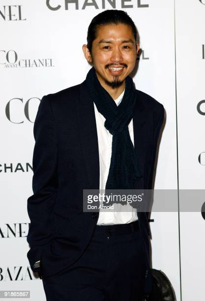 Akira Isogawa arrives for the Australian premiere of 'Coco Avant Chanel' at the State Theatre on June 17 2009 in Sydney Australia