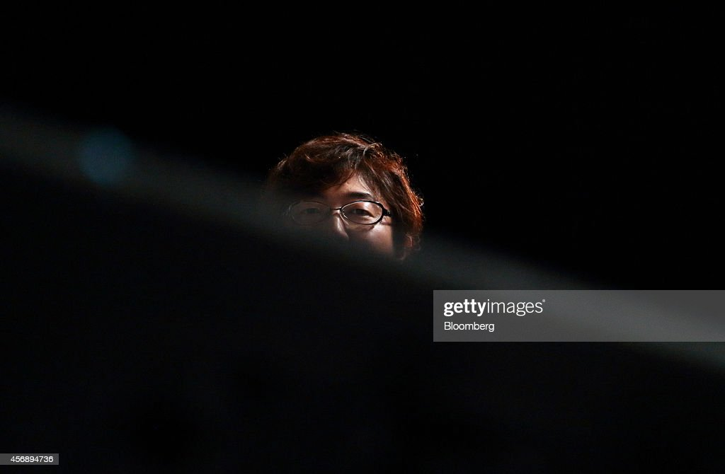 <a gi-track='captionPersonalityLinkClicked' href=/galleries/search?phrase=Akira+Morikawa&family=editorial&specificpeople=6894864 ng-click='$event.stopPropagation()'>Akira Morikawa</a>, chief executive officer of Line Corp., attends Line Conference Tokyo 2014 in Urayasu, Chiba Prefecture, Japan, on Thursday, Oct. 9, 2014. Line will introduce a pay function this winter that can be used to shop online and send money to friends, the company announced at a business strategy briefing today. Photographer: Tomohiro Ohsumi/Bloomberg via Getty Images
