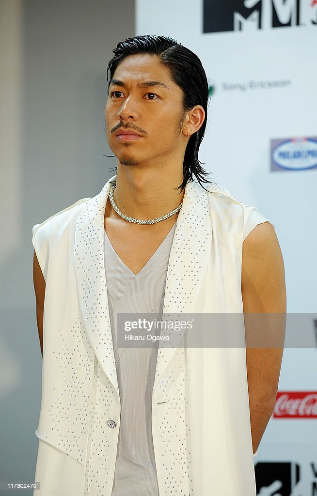 Akira of EXILE during the MTV Video Music Aid Japan at Makuhari Messe on June 25 2011 in Chiba Japan