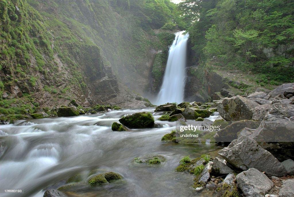 Akiu Great Waterfall : Stock Photo