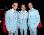 Akiva Schaffer Andy Samberg and Jorma Taccone of Lonely Island attends the 87th Annual Academy Awards at Dolby Theatre on February 22 2015 in...