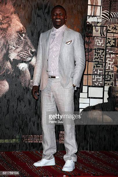 Akon attends The Heart Fund Generous People Gala 2016 during the 69th Annual Cannes Film Festival on May 16 2016 in Cannes