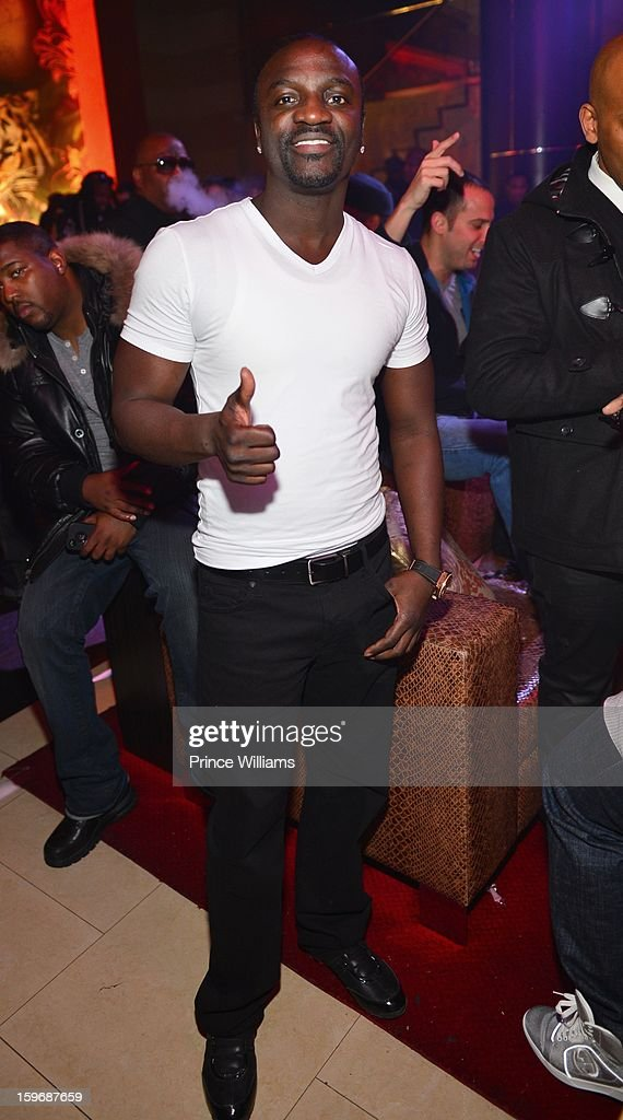 Akon attends The Kill Collection launch at Vanquish Lounge on January 17, 2013 in Atlanta, Georgia.