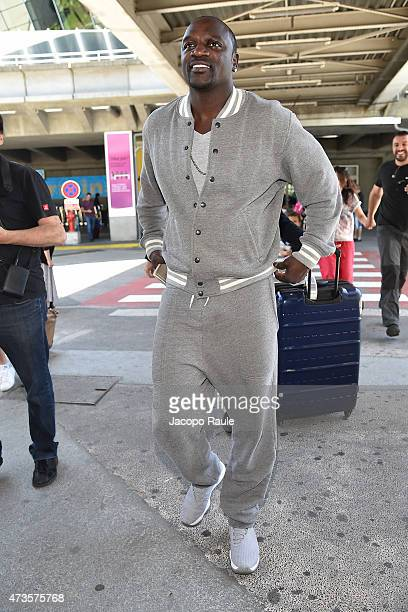 Akon is seen at Nice Airport during the 68th annual Cannes Film Festival on May 16 2015 in Cannes France