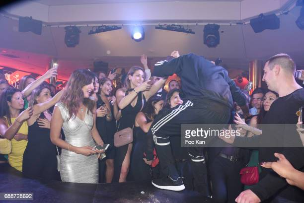 Akon performs during the VIP Room Cannes Akon and Bob Sinclar Concert Party during the 70th annual Cannes Film Festival at on May 25 2017 in Cannes...