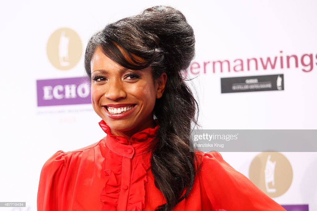 Y'Akoto attends the Echo Award 2015 on March 26, 2015 in Berlin, Germany.