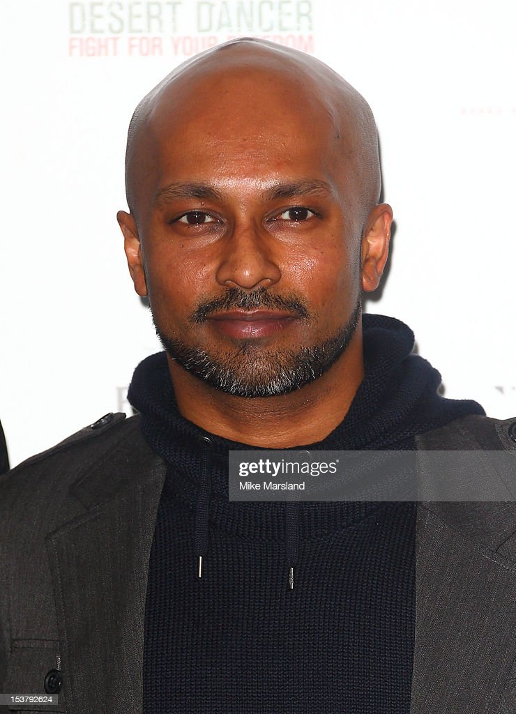 Akram Khan attends a photocall for 'Desert Dancer' at Sadler's Wells Theatre on October 9, 2012 in London, England.