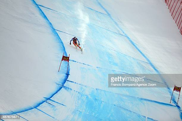 Aksel lund Svindal of Norway competes during the Audi FIS Alpine Ski World Cup Men's Downhill Training on December 18 2013 in Val Gardena Italy