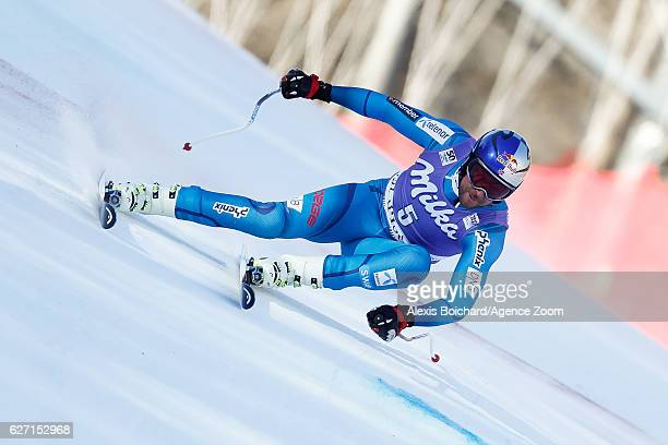 Aksel Lund Svindal of Norway competes during the Audi FIS Alpine Ski World Cup Men's SuperG on December 2 2016 in Val d'Isere France