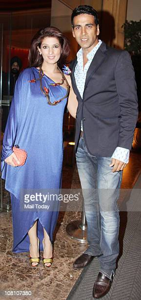 Akshay Kumar and Twinkle Khanna at their 10th Wedding Anniversary Party