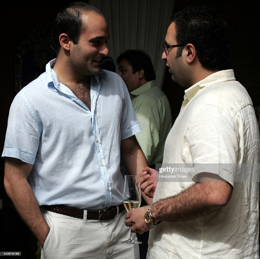 Akshaye Khanna at Rishi Acharya's Birthday party at Ra Phoenix mill Lower Parel.