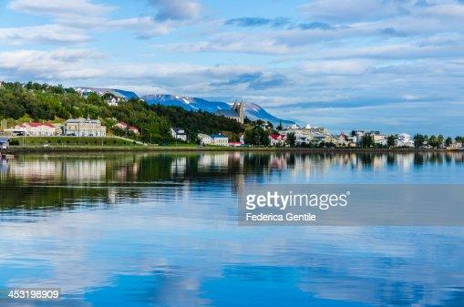 Akureyri reflections