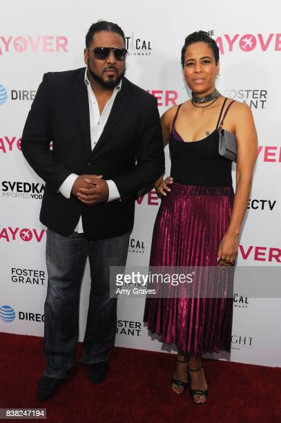 Al B Sure and Daphne Wayans attend 'The Layover' film premiere hosted by Vertical Entertainment DIRECTV Foster Grant and SVEDKA on August 23 2017 in...