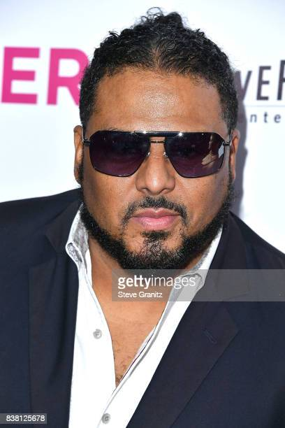 Al B Sure arrives at the Premiere Of DIRECTV And Vertical Entertainment's 'The Layover' at ArcLight Hollywood on August 23 2017 in Hollywood...