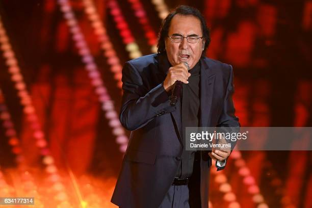 Al Bano attends the opening night of the 67th Sanremo Festival 2017 at Teatro Ariston on February 7 2017 in Sanremo Italy