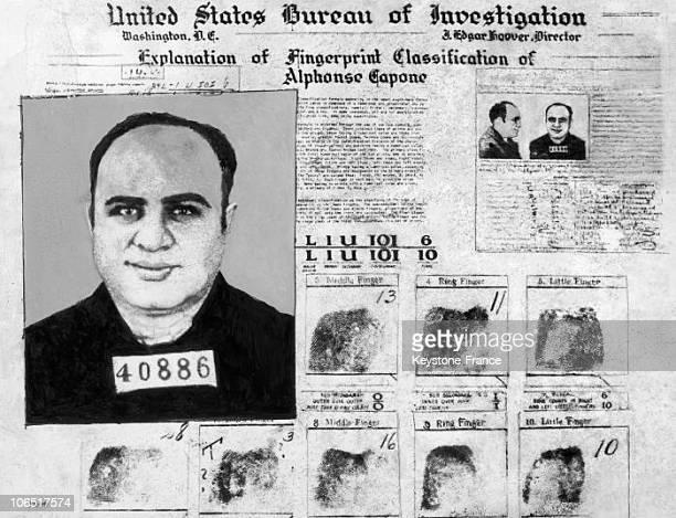 Al Capone Fingerprints