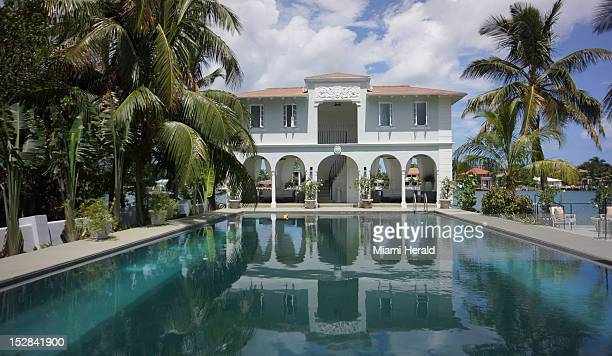 Al Capone's grandniece Deidre Marie Capone toured the mobster's former mansion on Palm Island The home is for sale for $10 million She learned to...