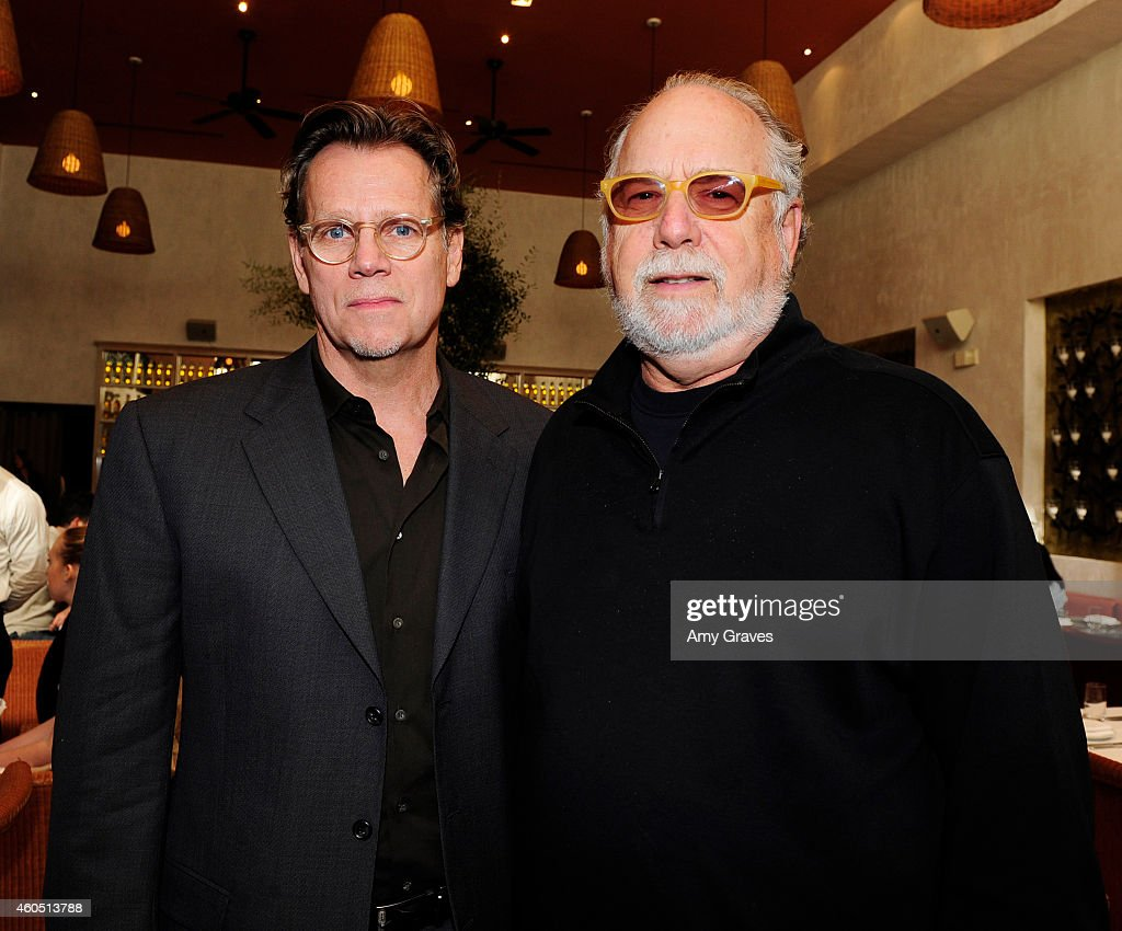 Al Corley and Jonathan Dana attend a special luncheon for Kevin Costner and Mike Binder hosted by Colleen Camp for the film BLACK OR WHITE at Fig & Olive Melrose Place on December 15, 2014 in West Hollywood, California.