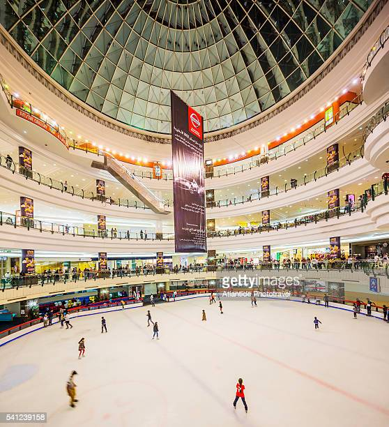 Al Dafna district (West Bay Business quarter), City Centre Doha Shopping Mall, ice skating rink